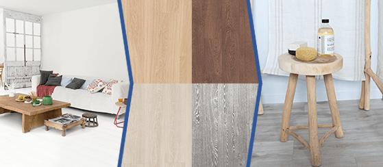 Варианты декоров и фото интерьеров с высококачественным ламинатом Quick-Step для поиска вдохновения с FloorExplorer.
