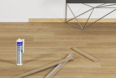 Uzlieciet perfektu apdari jūsu vinila grīdas segumam