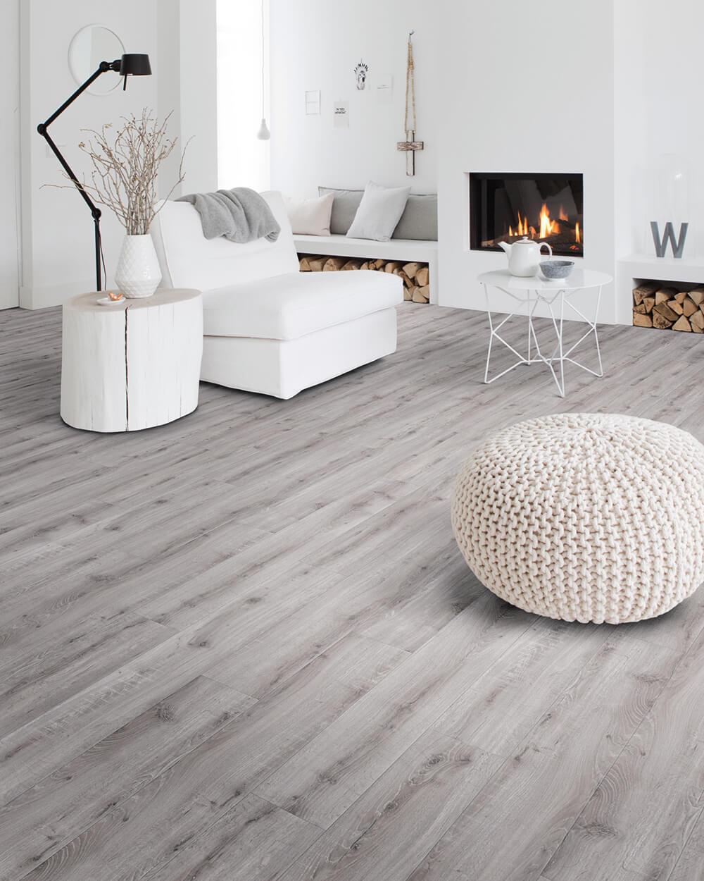 Grey Luxury Vinyl Floors Moduleo